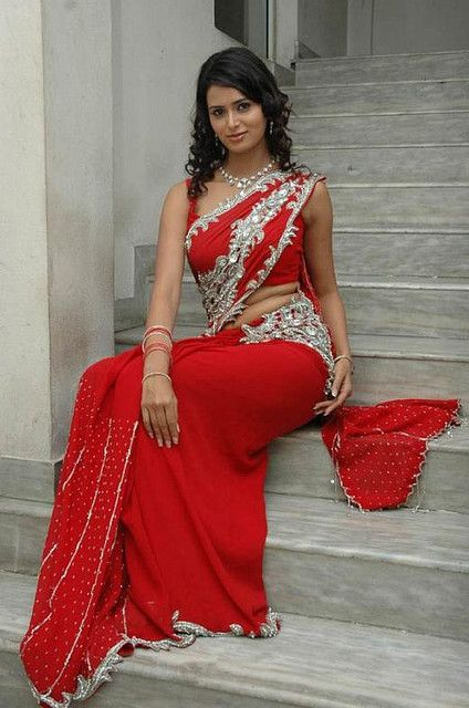 deisgner wedding saree with stone work blouse
