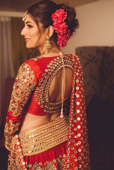 indian wedding blouse design