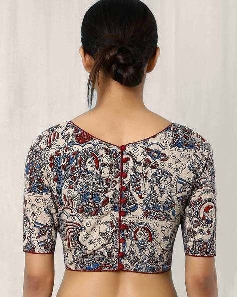 kalamkari blouse design