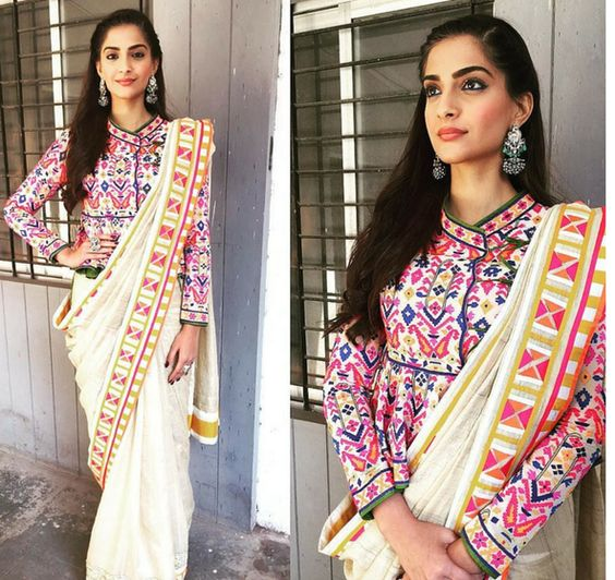sonal kapoor full sleeve blouse design