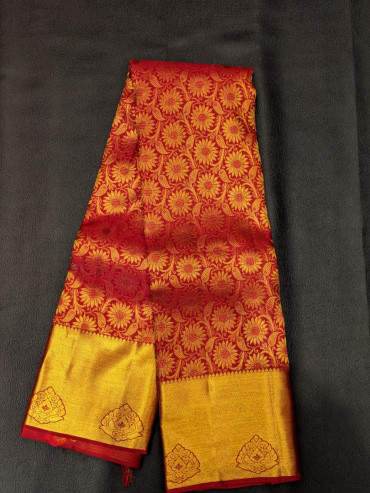 000BRID4006PERU - maroon wedding saree