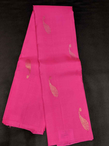 000SILK5029PERU44 - light rose silk saree