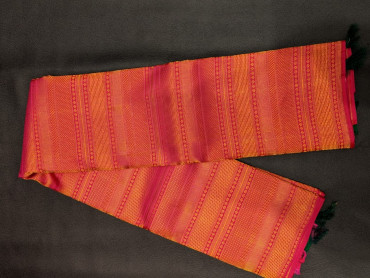 000BRID4006PERU70 - pink wedding silk saree