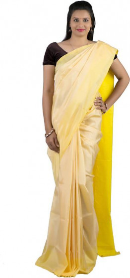 003AB37834 - cream uppada saree