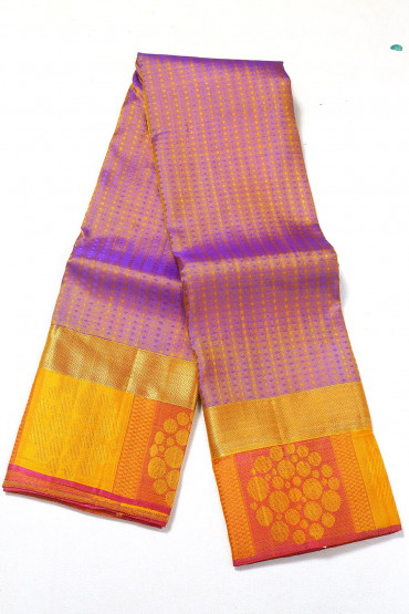 000PATTU5056PONNU - light purple  pattu saree