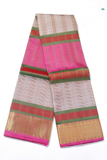 000PATTU5057PONNU - Multi colour  pattu saree