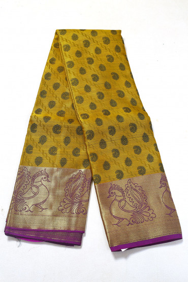 000PATTU5087PONNU - duon colour pattu saree